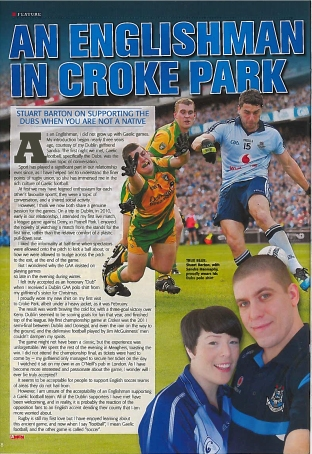An Englishman at Croke Park